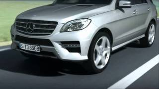 2012 Mercedes M-Class - Active Lane Keeping Assist
