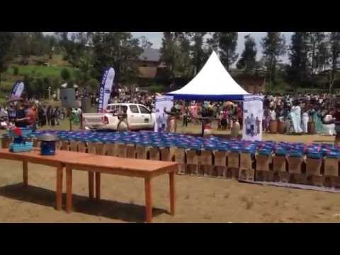Video - DelAgua 'Tubeho Neza' Launch Event in Rwanda