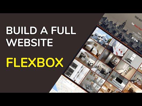 WYSIWYG Web Builder 12. Creating a full website with FlexBox (spanish)
