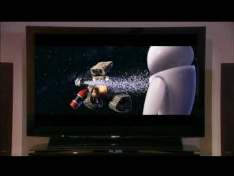 Disney Wall-e Panasonic Blu-Ray Promo (in Theaters Only)