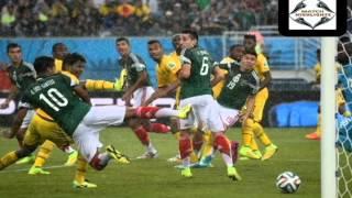 FIFA 2014 WORLD CUP MEXICO V/S CAMERON FISRT HALF HIGHLIGHTS 13-06-2014