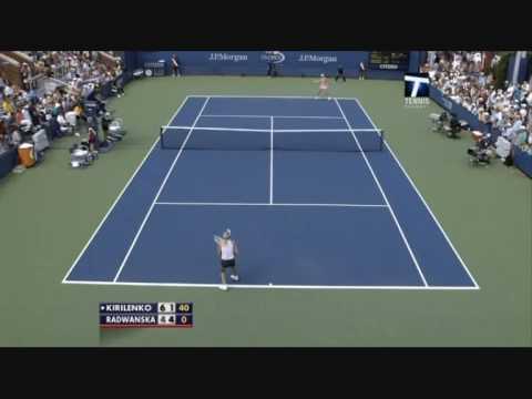 Maria Kirilenko vs Agnieszka Radwanska, US Open 2009