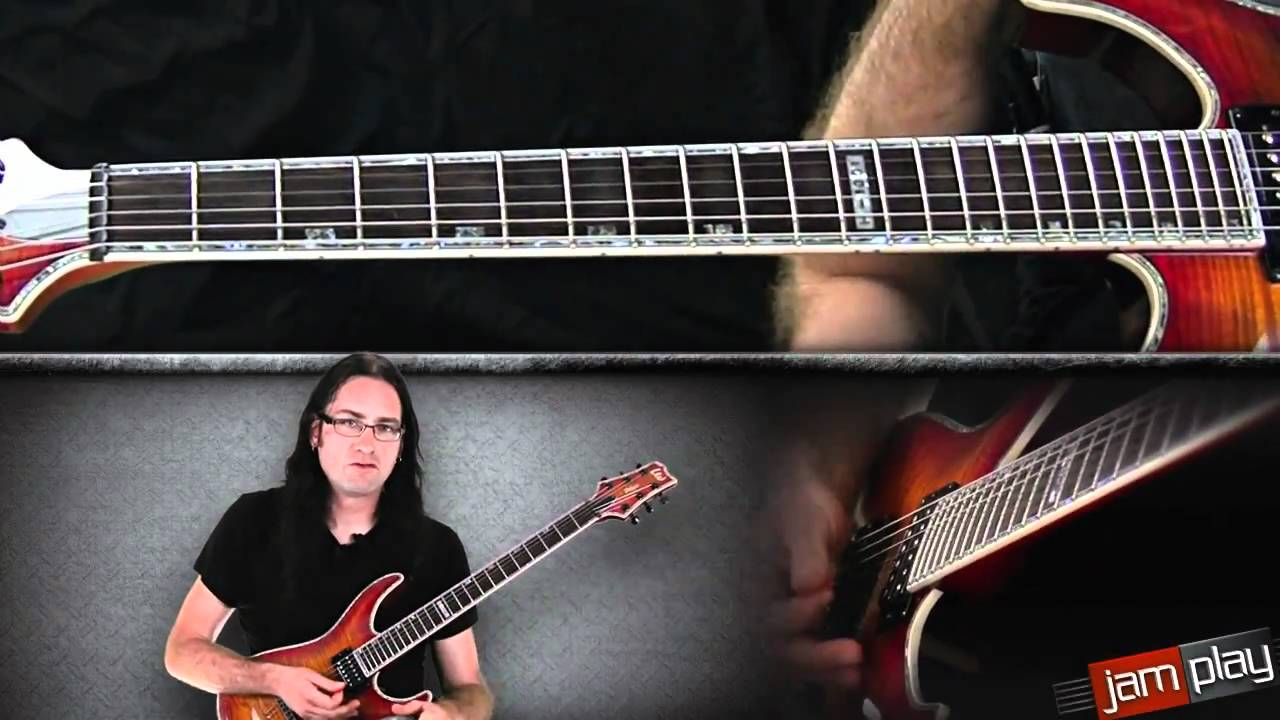 Tapping Arpeggios Advanced Guitar Lesson