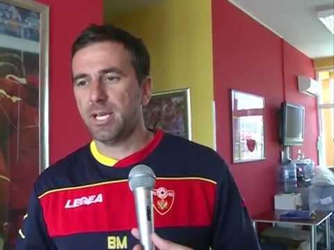 Crna Gora 99 - BiH 99, II utakmica, intervju selektor Miličković