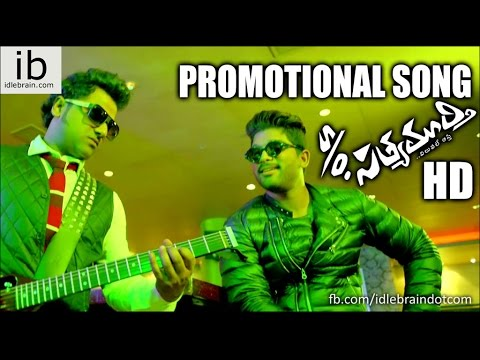 Son of Satyamurthy Promotional Song