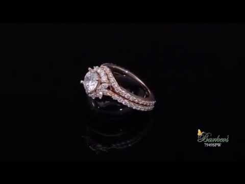 Rose Gold Bridal Set - 7949SPW