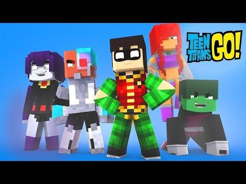 Minecraft: JOVENS TITANS DETETIVES - JOGO DO ASSASSINO ‹ Koow ›