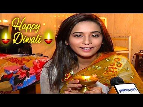 Shivani Surve aka Vividha celebrates DIWALI