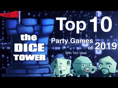 Top 10 Party Games of 2019 - with Tom Vasel