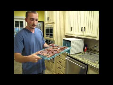 How to Make Jerky – Step 4 Dehydrate Meat in Oven and Dehydrator