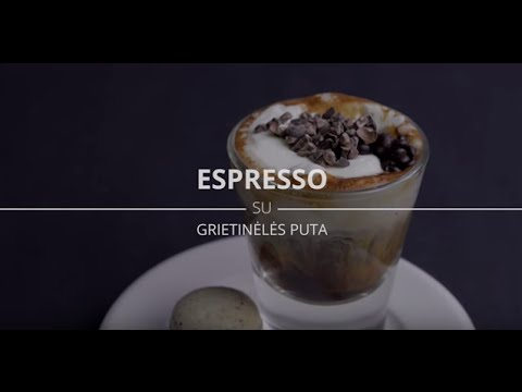 NESCAFÉ Espresso su grietinėlės puta