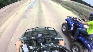 9. Suzuki Kingquad 400 VS. Yamaha Kodiak 450 RACE !!!