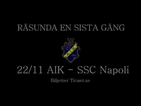 RÅSUNDA EN SISTA GÅNG 22/11