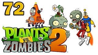 Ч.72 Plants vs. Zombies 2 - Far Future - Day 10