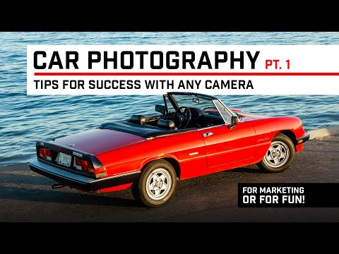 Tips and Tricks for photographing a car