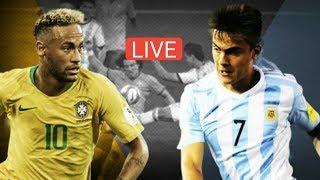 Download Lagu Brazil vs Argentina International Friendly Live Match HD 10/16/2018 Mp3