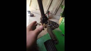 4. John Deere gator steering rack assembly removal