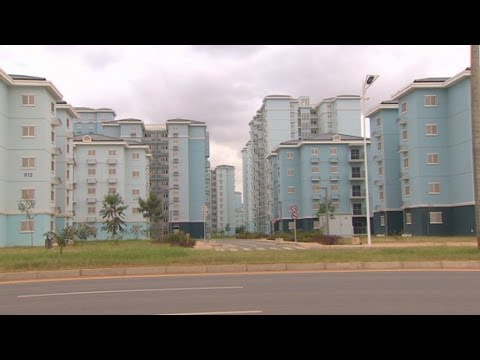 Chinese-built housing too expensive for locals in Angola.