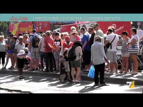 roma: trasporti pubblici inefficienti e inaffidabili