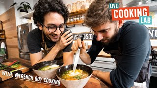 Attempting to French-ify Ramen with Alex French Guy Cooking by Brothers Green Eats