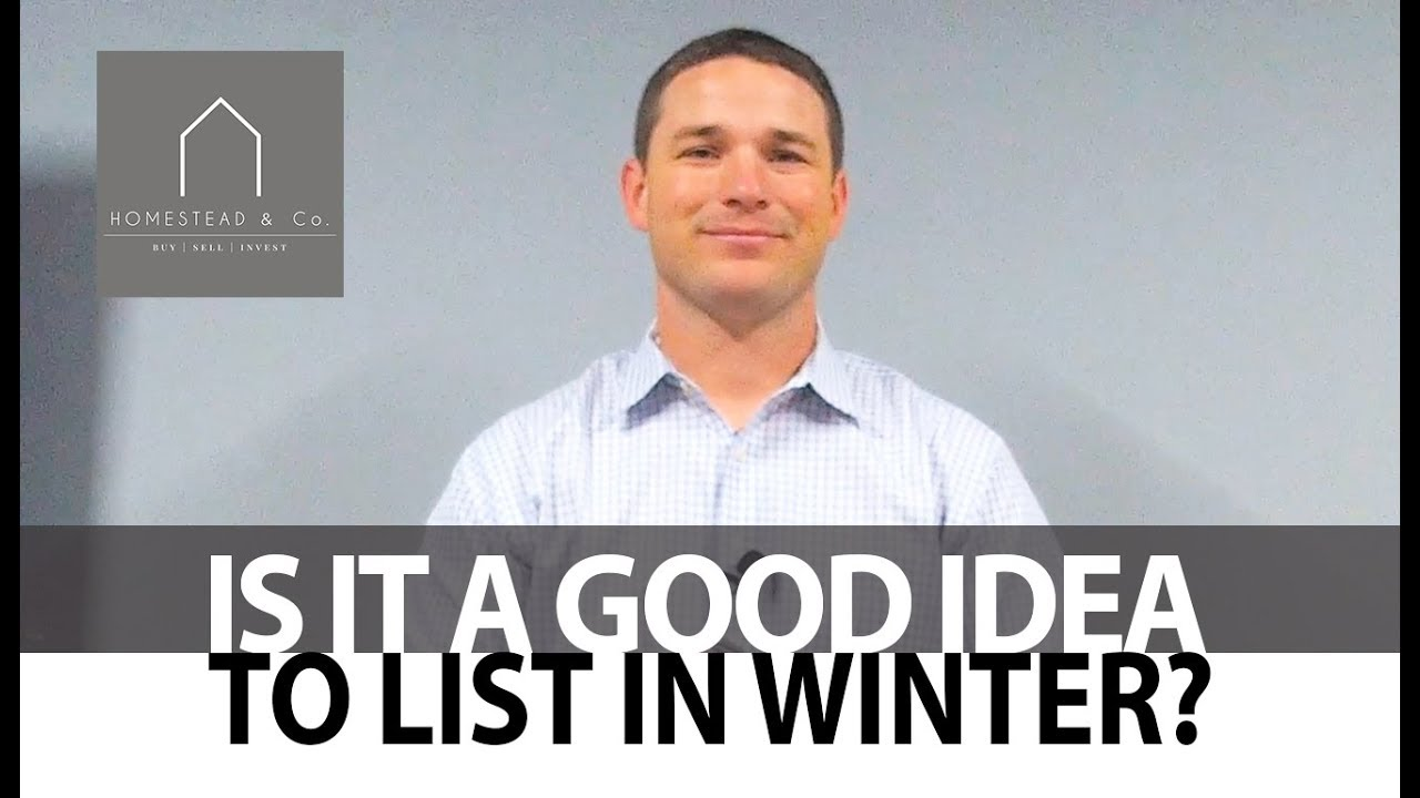 Can You Sell Your Home in Winter?