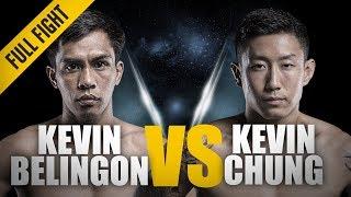 Video ONE: Full Fight | Kevin Belingon vs. Kevin Chung | A Thrilling Three-Round Battle | November 2017 MP3, 3GP, MP4, WEBM, AVI, FLV November 2018