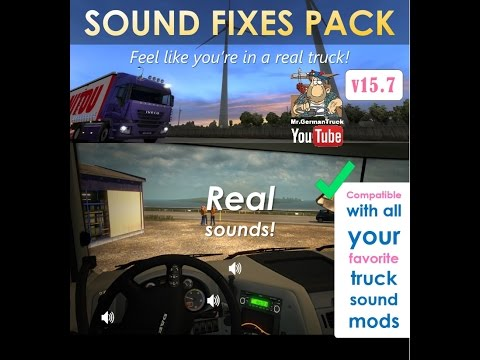 SOUND FIXES PACK v16.2.2