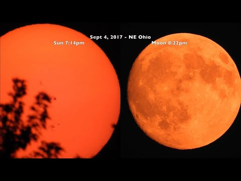 Unnatural Ohio Skies & a Few Sunspots_Nap videók