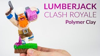 "Please watch: ""Lugia (Pokemon) – Polymer Clay Tutorial"" https://www.youtube.com/watch?v=15hHtHiKSuc-~-~~-~~~-~~-~-Hey guys, welcome to this polymer clay tutorial of the legendary card THE LUMBERJACK from Clash Royale!!As it was the winner of the last Clash Royale poll, I was looking forward to create this character out of clay. Hope you like it :)-----------------------------------------------------------LINKS:my CLAY on Amazon▸ http://amzn.to/2vHCqNrSkeleton Army Tutorial ▸ https://youtu.be/4GphLzD88eI-----------------------------------------------------------More ways to follow me:Instagram ▸ https://www.instagram.com/clayclaim/Snapchat  ▸ https://www.snapchat.com/add/clayclaimFacebook ▸ https://www.facebook.com/clayclaimTwitter ▸ https://twitter.com/ClayClaimEtsy ▸ coming soon ;)"