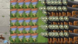 Plants Vs Zombies 2 Cañones y Bufones Por Todas Partes