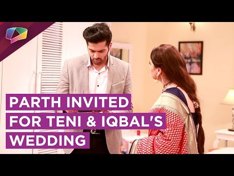 Invitation To Parth For Teni And Iqbal's Wedding.