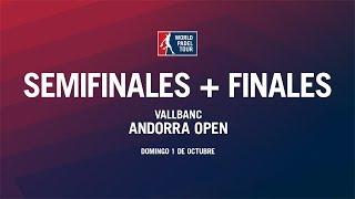 Semifinales + Finales Andorra Open 2017 | World Padel Tour