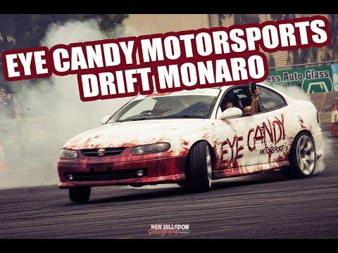 MY DRIFT MONARO IS ALIVE! EYE CANDY MOTORSPORTS DRIFT COUPE