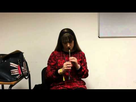 Orlaith McAuliffe Plays Selection of Reels on Killarney Whistle