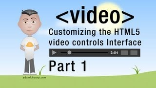 1. HTML5 Custom Video Player Controls JavaScript Programming Tutorial