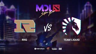 RNG vs Liquid, MDL Macau 2019, bo1, [Mael & Smile]