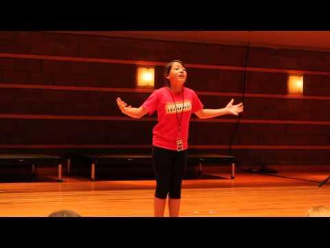 Lauren Dong at Segerstrom Concert Hall