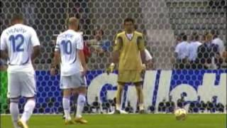 Zidanes 31 Treffer für die französische Nationalmannschaft
