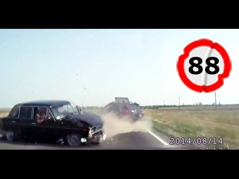 Car Crash Compilation # 88 || Подборка ДТП и Аварий Август 2014