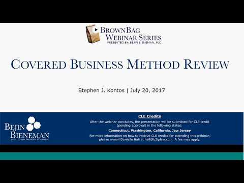 Covered Business Method R…