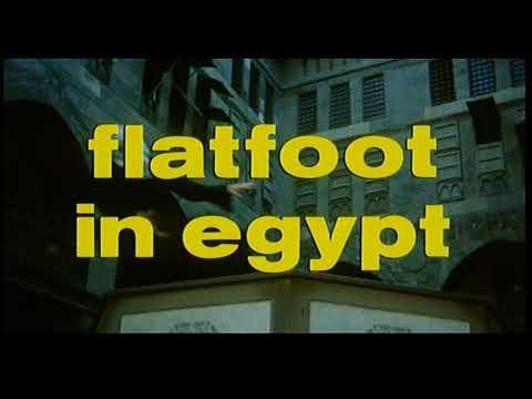 Plattfuß am Nil - Piedone d'Egitto - Flatfoot in Egypt - Internationaler Originaltrailer
