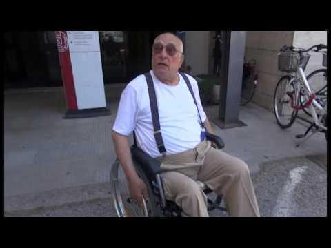 I disagi di un disabile per entrare alla Asl