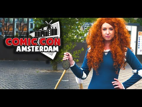Amsterdam Comic Con 2017 :: Cosplay Music Video
