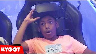 Did I Break It or Get the High Score?!   Funny and Kyoot Kids Videos