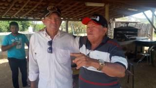 Galego Aboiador visita Mauricy Abrantes sítio lamarão RN