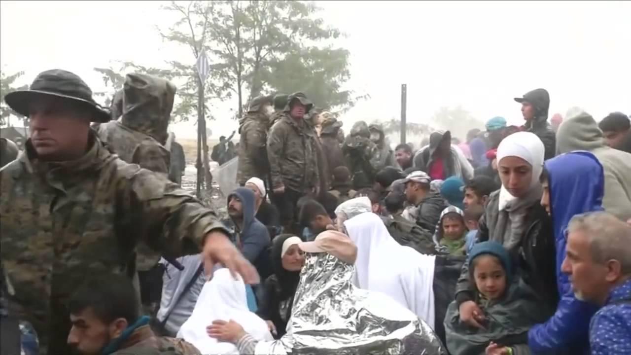 Σύνορα Ελλάδας-ΠΓΔΜ, 11/9/2015, πρόσφυγες
