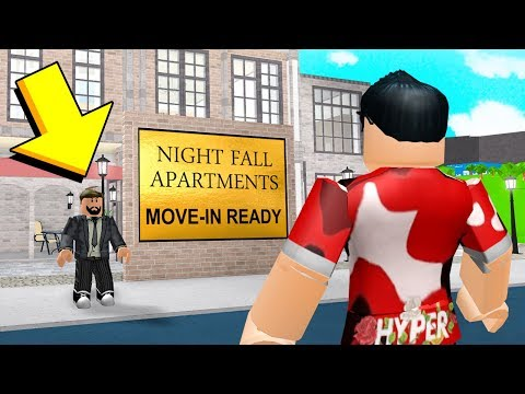 I Moved Into An OLD APARTMENT.. And The Owner Had An EVIL Plan.. (Roblox)