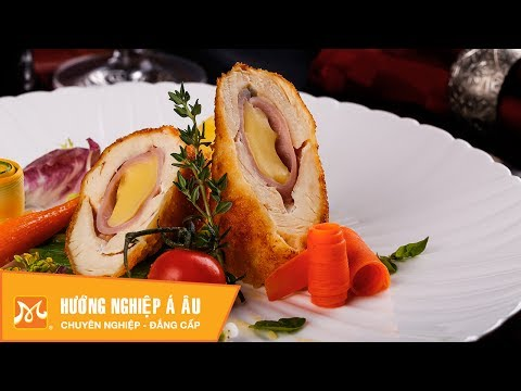 How to make delicious chicken cheese roll - Learn to cook European food