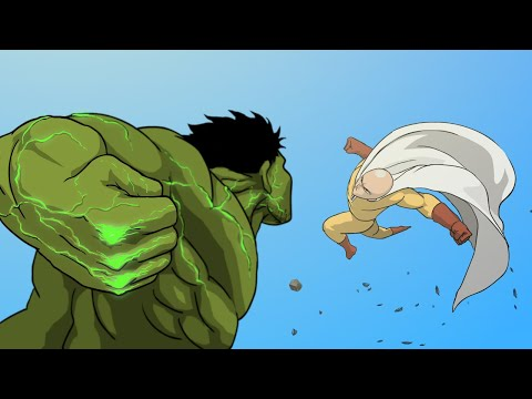 HULK Vs. SAITAMA Animation (Full Version) -Taming The Beast