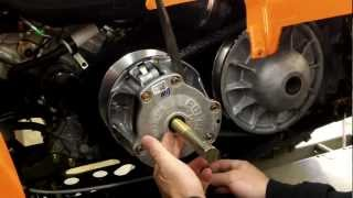 1. EPI Performance Polaris Sportsman Clutch Kit Install